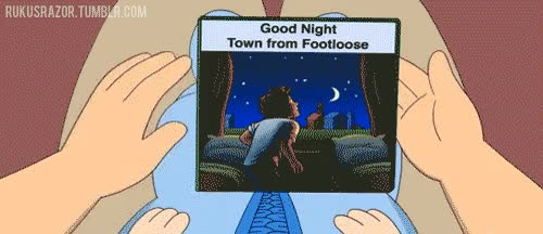 Watch and share Goodnight Footloose Goodnight Moon Gif GIFs on Gfycat