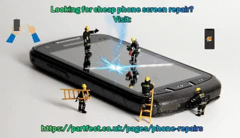 Watch and share Cheap Phone Screen Repair GIFs by Partfect Ltd on Gfycat
