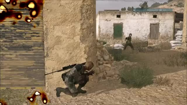 Watch and share Mgs V Shotgun 2 GIFs by snakesenpai on Gfycat