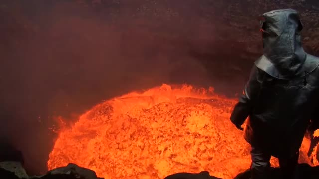 Watch and share Volcano GIFs and Nature GIFs by peterm on Gfycat