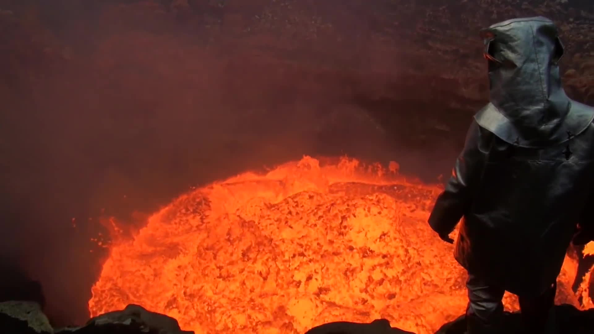 BeAmazed, SweatyPalms, beamazed, lava, magma, nature, sweatypalms, volcano, volcano islands (island group), Volcano Diver GIFs