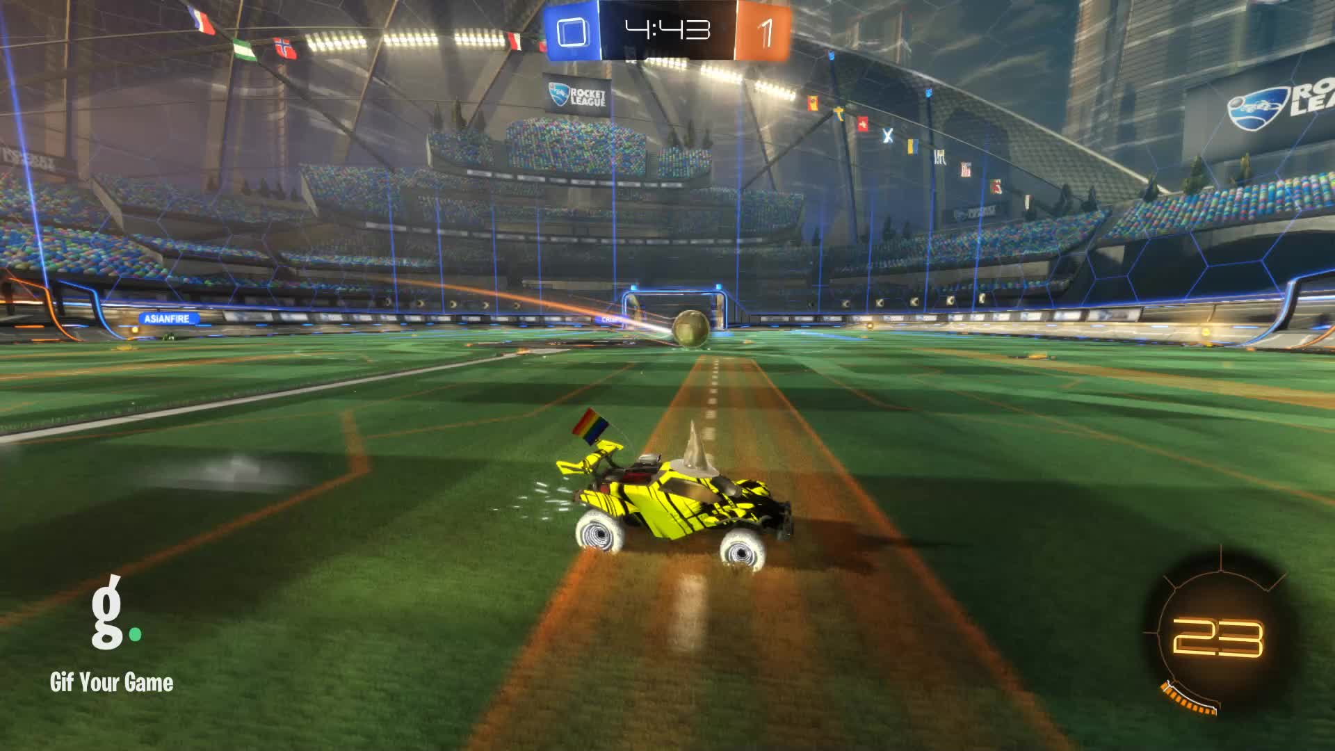 Gif Your Game, GifYourGame, I like beards :), Rocket League, RocketLeague, Goal 2: I like beards :) GIFs
