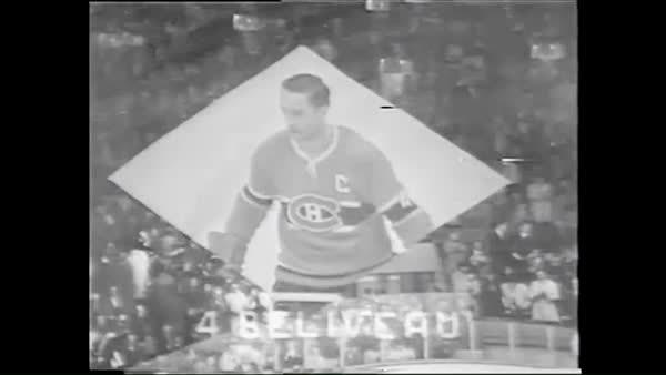 habs, #4 C Jean Beliveau [1931-2014] GIFs