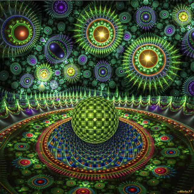 Watch animated fractal gifs Centerblog.net Non | LA TRIPLA BOLLA DI LUCE PROTETTIVA DELL'AA MICHELE | **IL *RISVEGLIO ... GIF on Gfycat. Discover more related GIFs on Gfycat