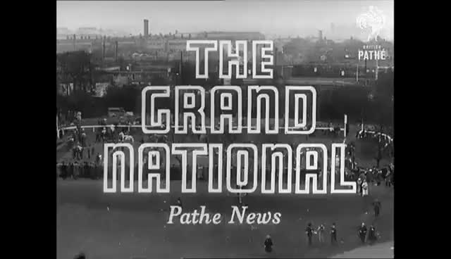 Watch this trending GIF on Gfycat. Discover more 1956, Grand National, fall, horses, jockey, steeplechase GIFs on Gfycat