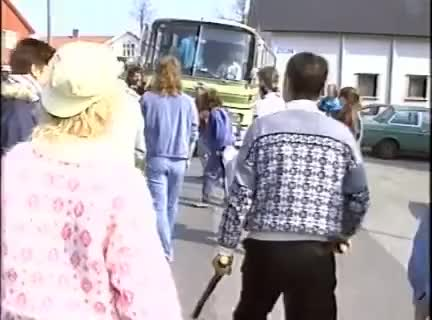 Watch and share «Fevik-slaget» 1990, Arne Myrdal & FMI Vs Demonstranter. GIFs on Gfycat