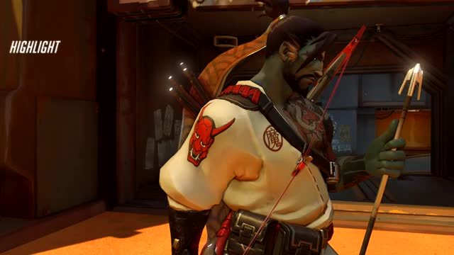 Watch and share Overwatch GIFs and Hanzo GIFs by matthileo on Gfycat
