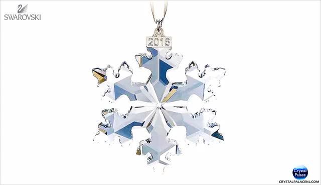 Watch and share Swarovski Annual Edition Ornament GIFs on Gfycat