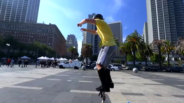 Watch and share Bike Parkour -Streets Of San Francisco! GIFs on Gfycat