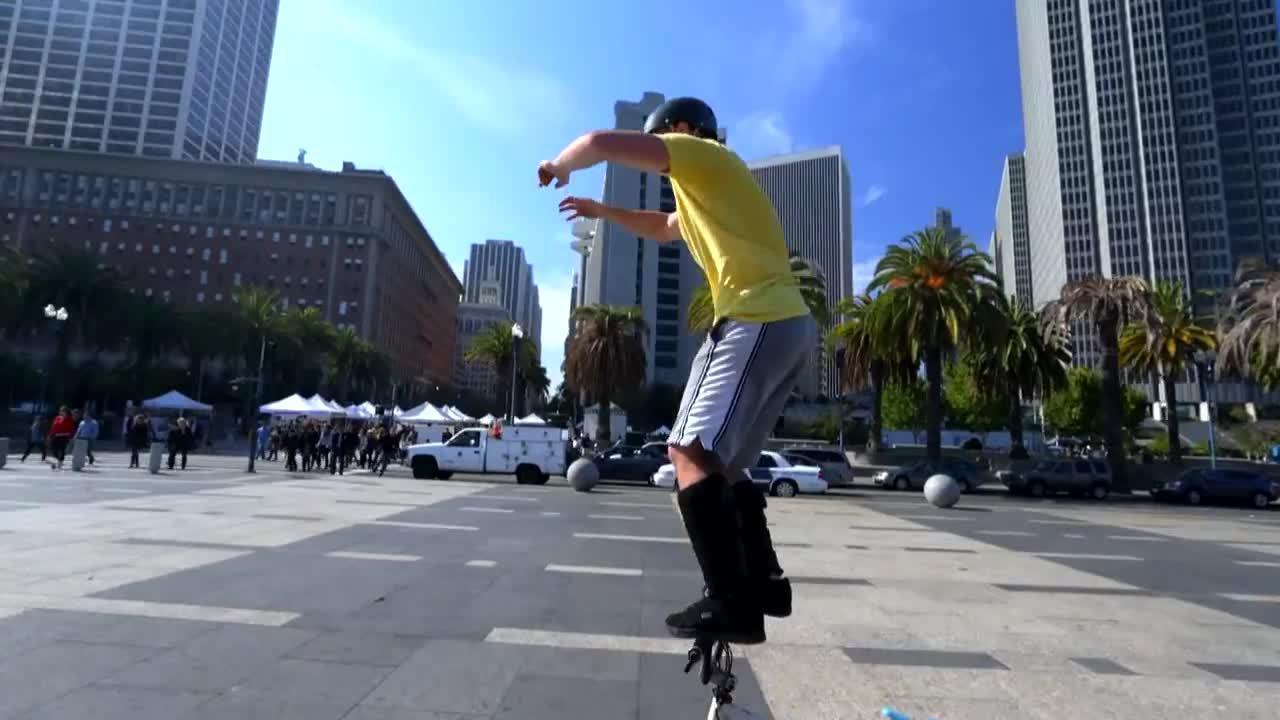 SuperAthleteGifs, highqualitygifs, superathletegifs, Bike Parkour -Streets of San Francisco! GIFs