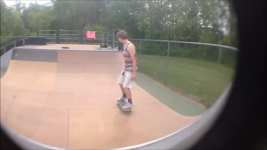 newskaters, Haven't skated this ramp since I broke my arm on it a few months ago. Today I went back and conquered it! (reddit) GIFs