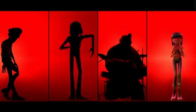 Watch and share Gorillaz GIFs and Noodle GIFs on Gfycat