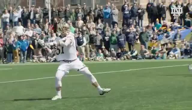 Notre Dame Men's Lacrosse GIFs