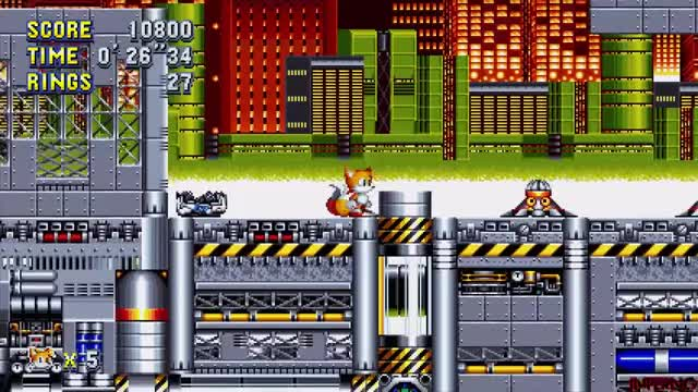 Sonic Mania - PS4 - Tails Playthrough + Super Tails - Debug Mode +