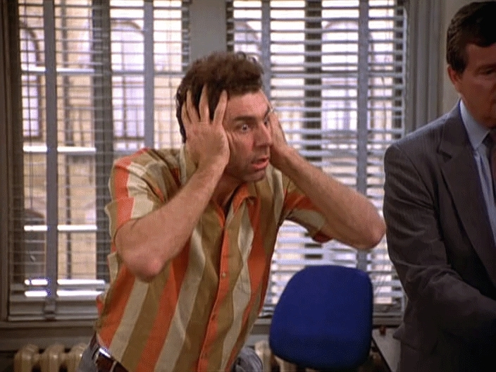 kramer, kramergifs, mind blown, mindblown, seinfeld, wow, Mind Blown GIFs
