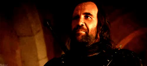 Watch this sandor clegane GIF on Gfycat. Discover more sandor clegane, the hound GIFs on Gfycat