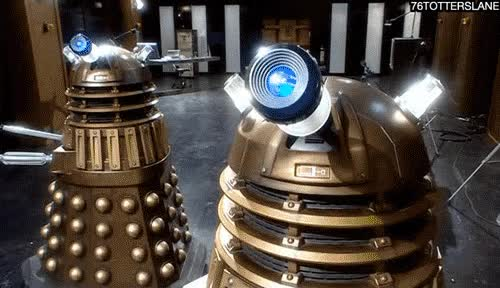 Watch and share Dalek, Explain GIFs on Gfycat