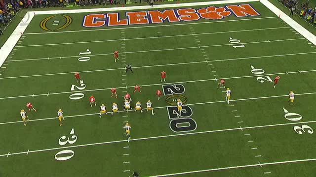 Watch and share Burrow V Clemson 3 GIFs by bearsaremean7 on Gfycat