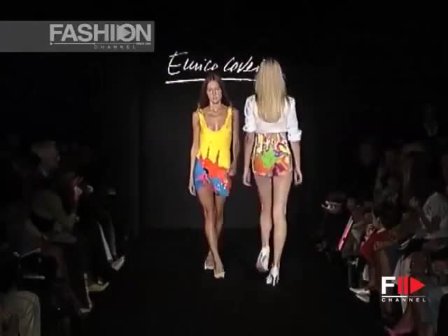 Watch and share Enrico Coveri GIFs and Ss04 GIFs by fashion show on Gfycat