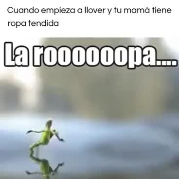 Watch and share Cuando Empiez A Llover Y Tu Mamá Tiene Ropa Tendida GIFs on Gfycat