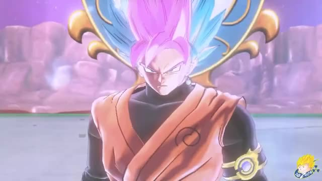 Dragon Ball Xenoverse 2 Pc Goku Black Super Saiyan Blue Rose Ex