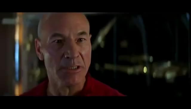 Watch Star Trek First Contact Picards Anger GIF on Gfycat. Discover more BORG, patrick stewart, space GIFs on Gfycat