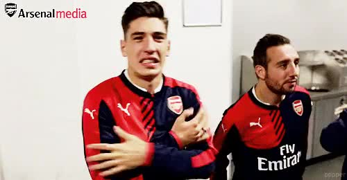 Watch and share Hector Bellerin GIFs and Arsenal GIFs on Gfycat