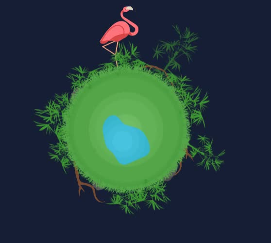Watch flamingo-sm GIF by JFarrow (@jaybirdfar) on Gfycat. Discover more related GIFs on Gfycat