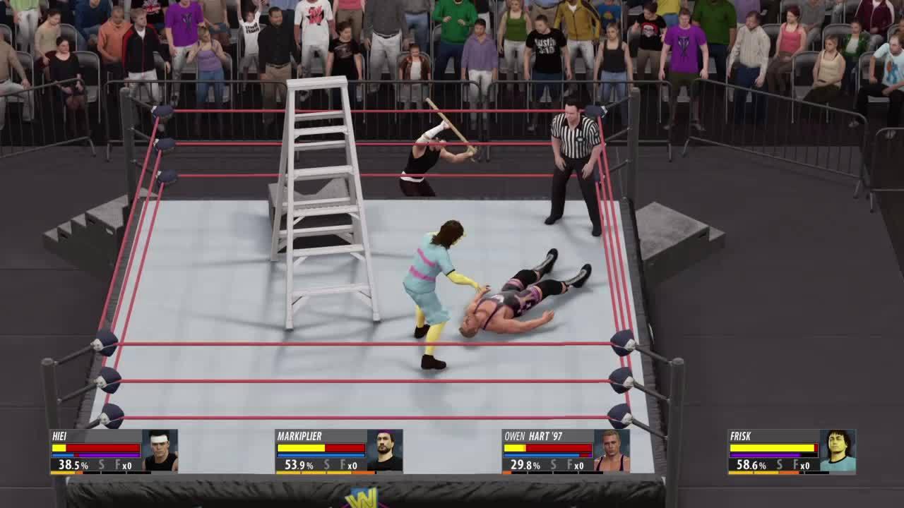 wwegames, [WWE 2K16] A devastating reversal GIFs