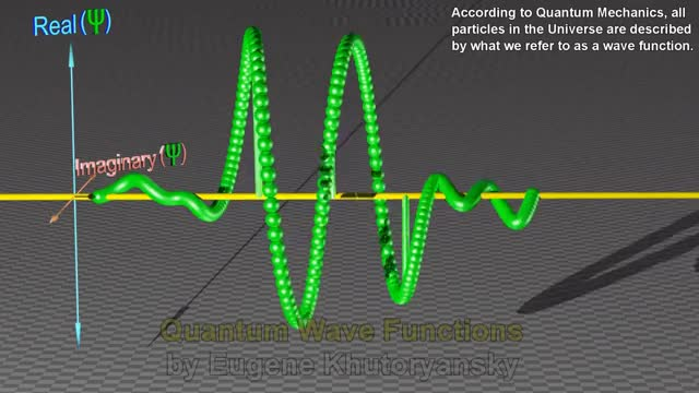 Watch and share Quantum Wave Function Visualization GIFs on Gfycat