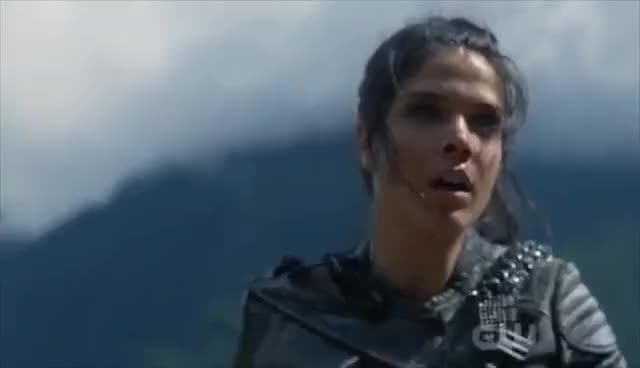 Watch and share The 100 4x04 Octavia Of The Sky People Dies GIFs on Gfycat