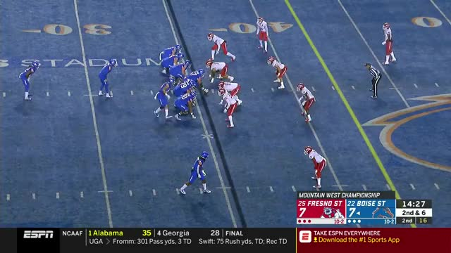 Watch Mountain West Football Championship: Championship | ESPN | Clippit GIF on Gfycat. Discover more boringtjnesbit, football GIFs on Gfycat