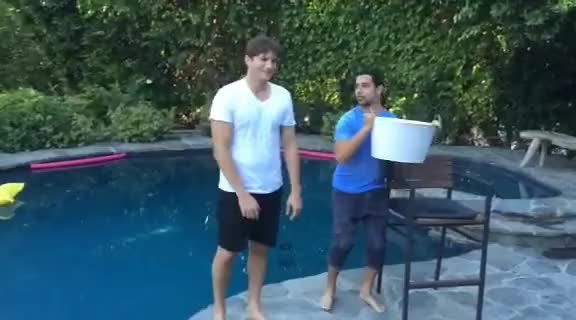 Watch and share Ashton Kutcher Ice Bucket Challenge GIFs on Gfycat