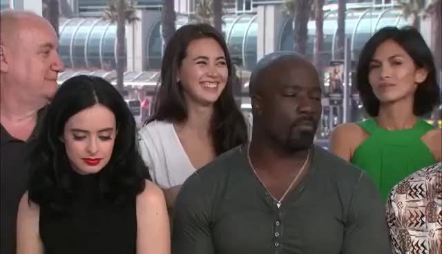 Watch this defenders GIF on Gfycat. Discover more aml ameen, defenders, jessica henwick, krysten ritter GIFs on Gfycat