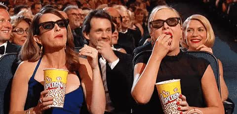 Watch tina fey amy pohler popcorn glasses GIF on Gfycat. Discover more claire danes, hugh dancy GIFs on Gfycat
