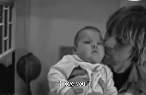 Watch and share Kurt Cobain Love You GIFs on Gfycat