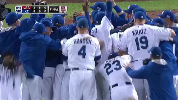 Watch and share Orioles And Royals Celebrations GIFs by balsportsreport on Gfycat