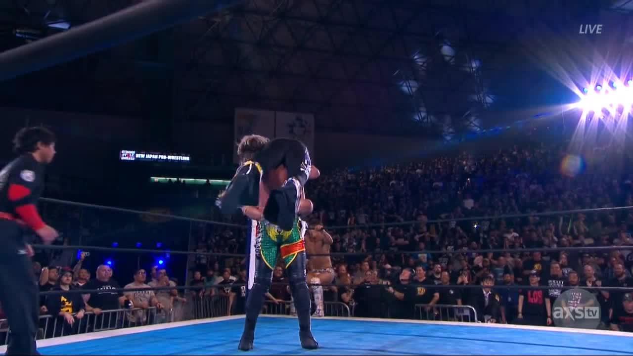 NJPW, wrestling, NJPW Strong Style Evolved GIFs