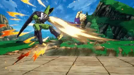 Watch and share Gohan Vs Cell GIFs by diguinoia on Gfycat