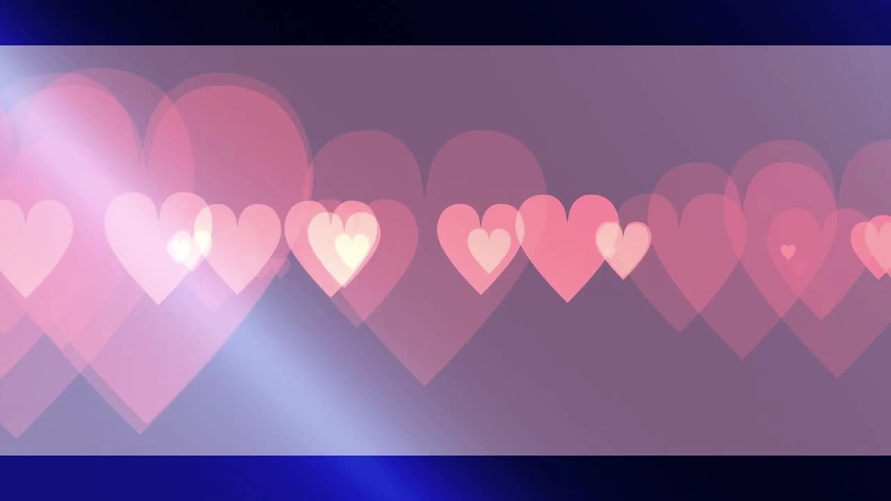 clear pink hearts, hearts, love,  GIFs