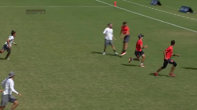 Watch 2017 National Championships: Men's Semi San Francisco vs Raleigh GIF by @bigdisc on Gfycat. Discover more USA Ultimate (Sports Association), Ultimate (sport), disc, frisbee, sport, usau GIFs on Gfycat