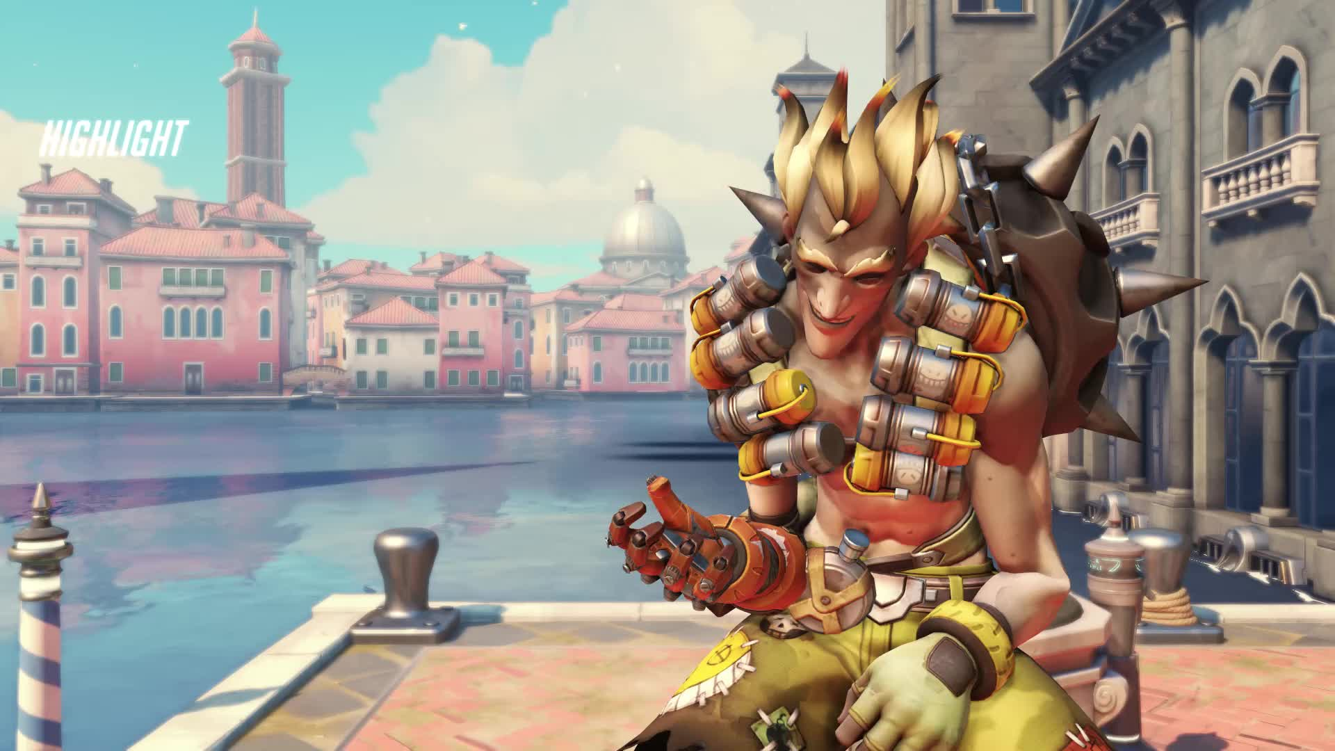 highlight, junkrat, overtime, overwatch, nerf this GIFs