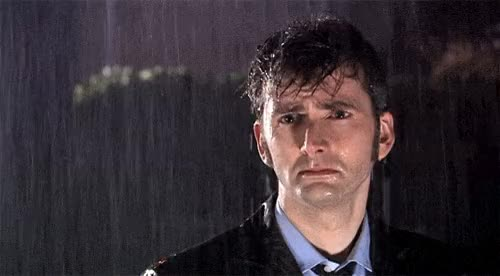 Watch this sad GIF by @thisisme on Gfycat. Discover more david tennant, rain, sad GIFs on Gfycat