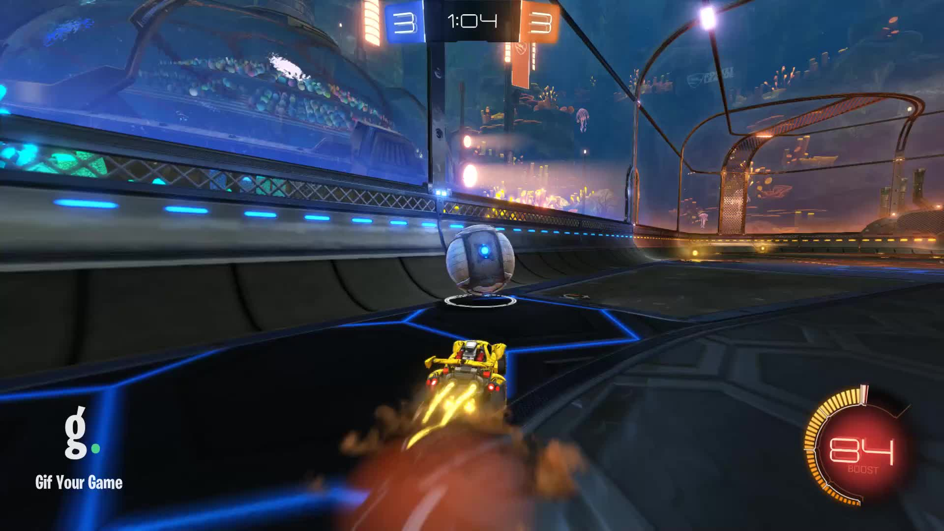 Champ at heart Plat to start, Gif Your Game, GifYourGame, Goal, Rocket League, RocketLeague, Goal 7: Champ at heart Plat to start GIFs
