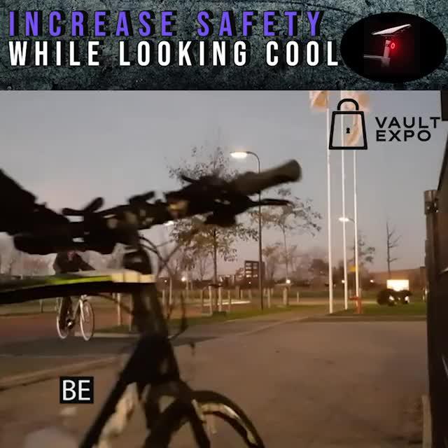 Watch and share Bike Tail Light VE JS GIFs on Gfycat