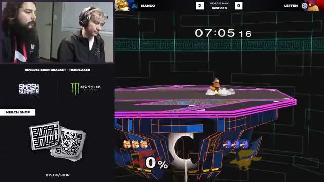 Leffen Falco vs Mang0