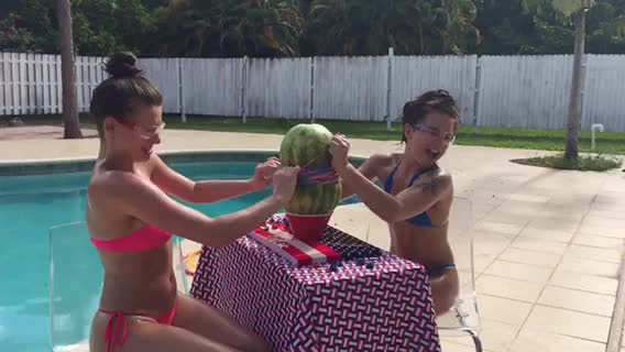 Watch and share Watermelon GIFs by ecmora on Gfycat