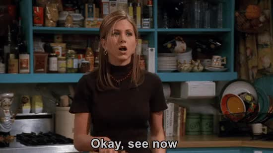 Watch this friends GIF on Gfycat. Discover more friends, jennifer aniston GIFs on Gfycat