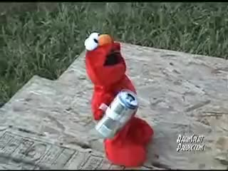 Watch Fall Over Elmo GIF on Gfycat. Discover more Drunk, Elmo GIFs on Gfycat