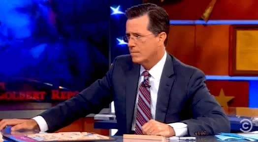 Watch and share Stephen Colbert GIFs by myregularface on Gfycat
